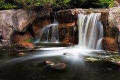 Lake Katherine Waterfall Stock Image