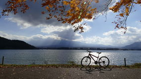 Lake Kawaguchi. For adv or others purpose use stock photos