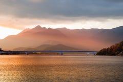 Lake Kawaguchi royalty free stock images
