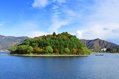Lake kawaguchi Royalty Free Stock Photo