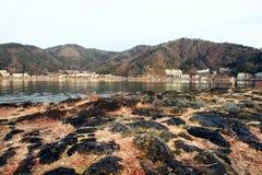 LAKE KAWAGUCHI IN JAPAN Stock Photography