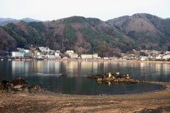 LAKE KAWAGUCHI IN JAPAN Stock Image