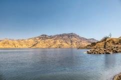 Lake Kaweah to Sequoia National Park. Lake Kaweah to Sequoia National Park in the daytime Royalty Free Stock Photo