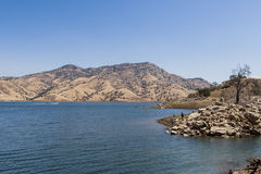 Lake Kaweha, California, USA. July 2, 2012: Lake Kaweah is a reservoir near Lemon Cove in Tulare County, California. The lake is formed by Terminus Dam on the Stock Photo