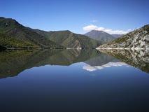 Kayak. Lake Royalty Free Stock Images