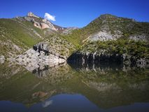 Kayak. Lake Stock Images
