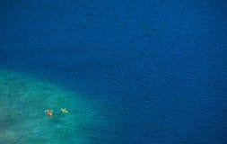 Lake Kayaking Royalty Free Stock Image