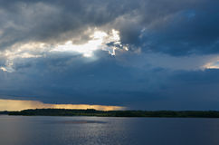 Lake Kenozero Royalty Free Stock Images