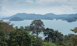 Lake kenyir Royalty Free Stock Image