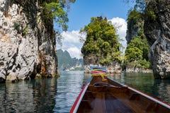 Lake khao sok national park Stock Image