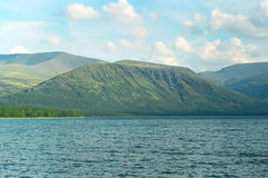Lake in Khibini Royalty Free Stock Photography