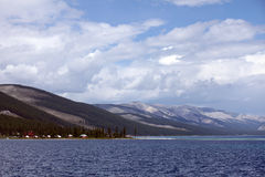 Lake Khovsgol, northern Mongolia Royalty Free Stock Photo