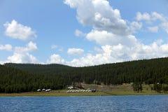 Lake Khovsgol, northern Mongolia Stock Images