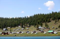 Lake Khovsgol, northern Mongolia Stock Photo