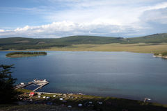Lake Khovsgol, northern Mongolia Stock Images