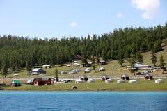 Lake Khovsgol, northern Mongolia Royalty Free Stock Photo