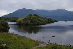 Lake Killarney. Lake on a cloudy day Stock Images