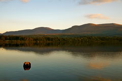 Lake Killarney. Lake at sunset Royalty Free Stock Images