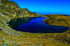 Lake Kindey , One Of The Famous Seven Lakes In Mountain Rila, Bulgaria Royalty Free Stock Images