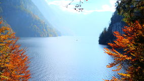Lake king's en parc national de Berchtesgaden photographie stock