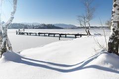 Lake Kirchsee, Bavaria, Germany Stock Photos