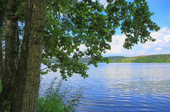Lake Kisegach in Russia Royalty Free Stock Images