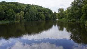 Lake in Kitaevo wasteland Stock Photography