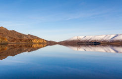 Lake Kleifarvatn, Iceland. Royalty Free Stock Photos