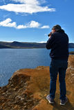 Lake Kleifarvatn Stock Photography