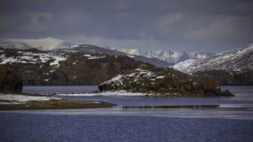 Lake Kleifarvatn at Reykjanes peninsula in Iceland Stock Photo