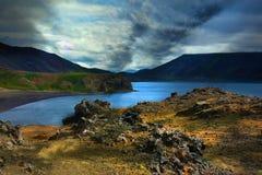 Lake Kleifarvatn Stock Image