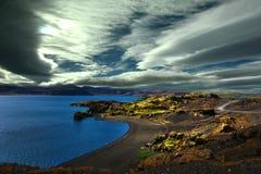Lake Kleifarvatn Royalty Free Stock Images