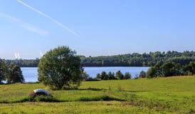 Lake Kleschino Royalty Free Stock Photo