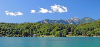 Lake Klopein,Carinthia,Austria Stock Photo