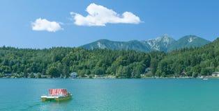 Lake Klopeiner See,Carinthia,Austria Royalty Free Stock Images