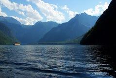 Lake Königsee Royalty Free Stock Photos