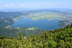 Lake Kochel Royalty Free Stock Image