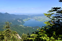 Lake Kochel Royalty Free Stock Photo
