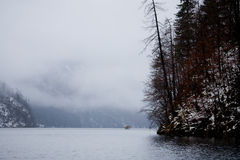 Lake Koenigsee Stock Photography
