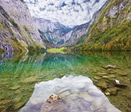 The lake Koenigssee in Austria Stock Image