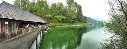 Lake Koenigssee, Bavaria Germany Royalty Free Stock Photography