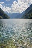 Lake Koenigssee Stock Photography