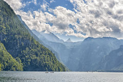 Lake Koenigssee. In Berchtesgaden, Bavaria, Germany Stock Images