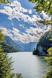 Lake Koenigssee. In Berchtesgaden, Bavaria, Germany Stock Photography
