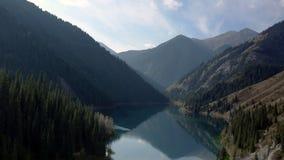 Lake Kolsay. stock video footage