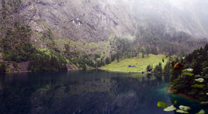 Lake kongissee. Taken near Lake Kongissee in the German Alps on a Summers Day Stock Photo