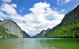 Lake Konigssee Royalty Free Stock Photo