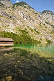 Lake Konigssee Royaltyfria Foton