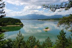 Lake Koprinka, Bulgaria, South-East Europe Royalty Free Stock Image