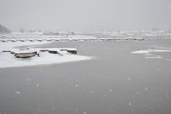 Lake in Kotka. Royalty Free Stock Photos